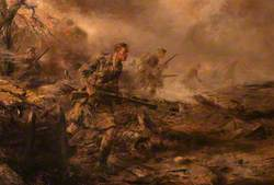 The 4th Battalion The Black Watch in the Attack, 1915