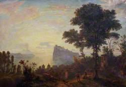 Sunrise over Naples