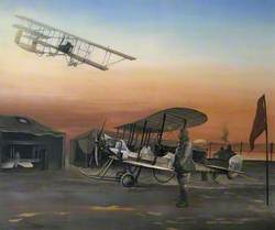 Aircraft from No. 2 Squadron at Upper Dysart Farm, Montrose, February 1913