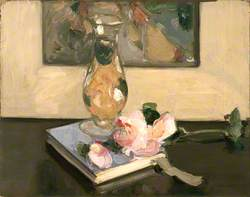 Vase and Flower on a Book