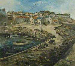 Harbour at Crail
