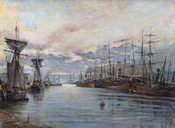 The Fishing Fleet, Aberdeen Harbour