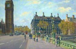 Portcullis House from Westminster Bridge