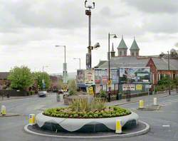 Political Posters, Ardoyne Roundabout, Belfast, 2 May 2010, Belfast North Constituency