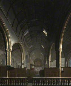 Interior of St Andrew's Church