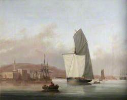 Royal William Victualling Yard, Stonehouse, 1840