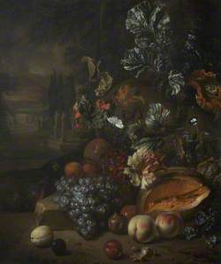 Flower Piece and Fruit