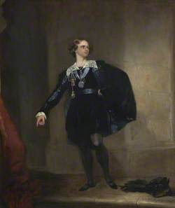 Samuel Phelps (1804–1878), as Hamlet