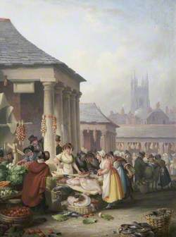 Fish Market, Plymouth