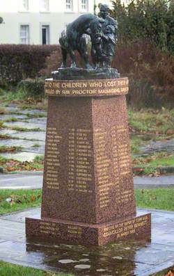 Monument to the Child Miners