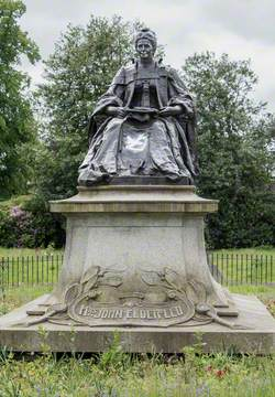 Monument to Isabella Ure (Mrs John Elder, 1828–1905)