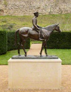 General Jack Seely (1868–1947), 1st Baron Mottistone, on 'Warrior' (1908–1941)