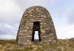 Memorial to the Pairc Deer Raiders: Cuimhneachain nan Gaisgeach (Land Struggle Cairn)
