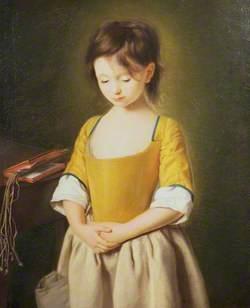 Portrait of a Young Girl: La penitente