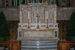 High Altar Relief: Christ in the Tomb