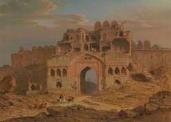 Inside the Main Entrance of the Purana Qila, Delhi
