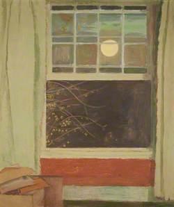 Open Window by Moonlight (Night Window)