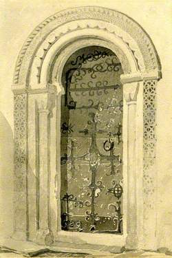 Norman Doorway, Haddiscoe Church, Norfolk