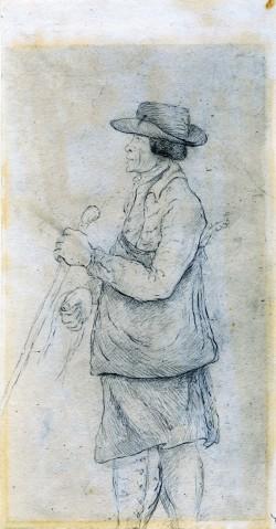 Man Wearing Eighteenth-Century Costume