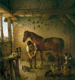 The Shoeing Smith