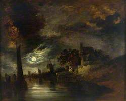 Moonlight on the River at Norwich
