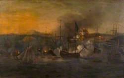 Bombardment of Castillo de San Lorenzo by Admiral Vernon