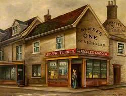 Joseph Turner, People's Grocer, St Nicholas' Street, Ipswich