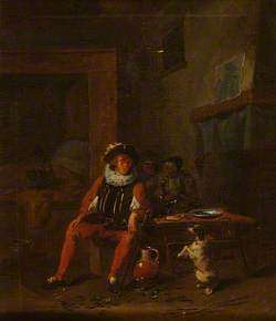 Cavalier Seated in a Tavern