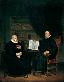 Burgomaster and His Wife