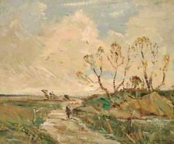 Country Lane, Walcheren Island, Holland