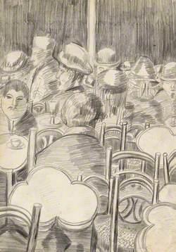 Arabs in a Café, Algiers
