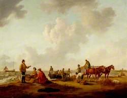 Lowestoft Beach, 1803, Suffolk