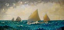 'Enterprise' Sailing on Zuyder Zee