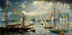 Lowestoft Yacht Basin, Regatta 1906
