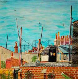 View from 15 Stanley Street, Lowestoft, Suffolk
