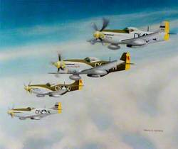 P51 Mustangs, 343 Fighter Squadron