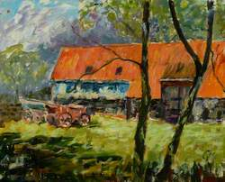 Abbotts' Hall Tithe Barn, Suffolk