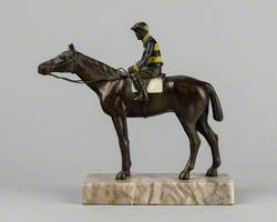 Horse and Jockey in John Penny's Colours