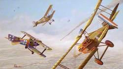 Allied SE5 Biplanes, First World War