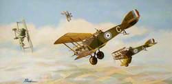 Allied Bristol F2b Biplane, First World War