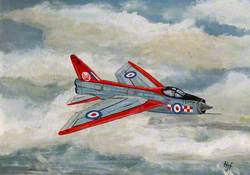 English Electric Lightning F1A