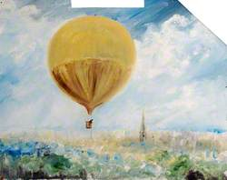 First Balloon Flight over Norfolk, 1785