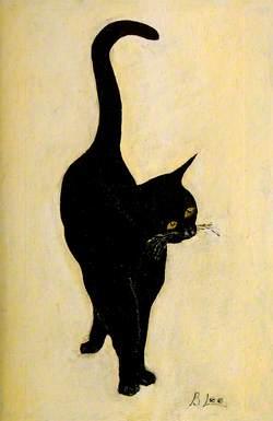 'Merlin', the Museum Cat