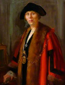 Mrs Eva Wollaston Greene, First Woman to Serve as a Councillor and Mayor of Bury St Edmunds
