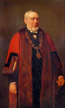 William Howard Elmy, Mayor (1894–1895)