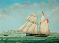 The Sylph at Sea