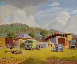 A Fair in Endcliffe Park, Sheffield