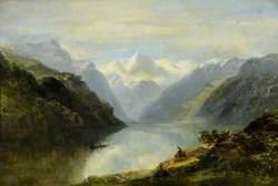 The Head of Lake Lucerne, Switzerland
