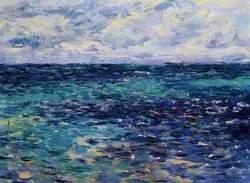 Sun, Sea and Cloud, Irish Sea from Anglesey