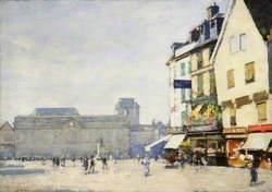 Market Place, Concarneau, France